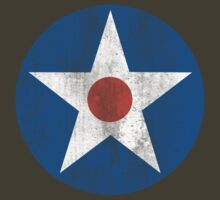 US Army Air Corps Star by Deadscan