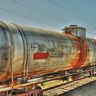 The Tank Car  Grapevine TX  by John  Kapusta