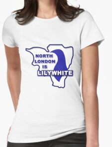 North London is Lilywhite Womens Fitted T-Shirt