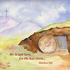 Easter Joy - Matthew 28:6 by Diane Hall