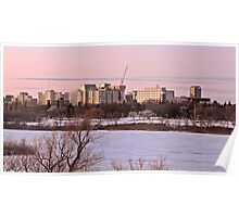 Regina Skyline Poster