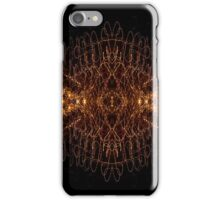 Lightpainting Abstract Symmetry UFA Prints #7 iPhone Case/Skin