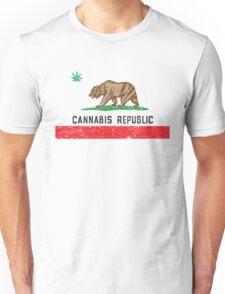 Vintage Cannabis Republic Unisex T-Shirt
