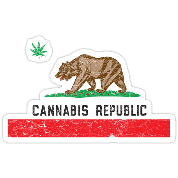Vintage Cannabis Republic by colorhouse
