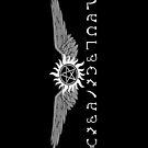 Supernatural Enochian & Tattoo iPhone Case by Jam42B