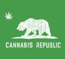 Vintage Cannabis Republic - Dark T-Shirt