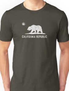 Vintage California Cannabis - Dark Unisex T-Shirt