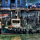 Waiting at the Dock by Andre Faubert