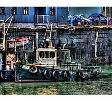 Waiting at the Dock Photographic Print