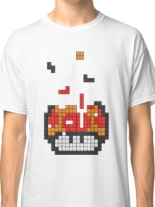 Super Mario Mushroom Pixel Classic T-Shirt