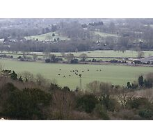 Countryside Shapes Photographic Print