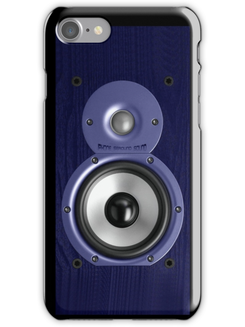 SPEAKER IPHONE CASE 1b by ALIANATOR