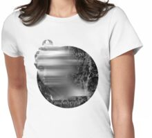 Marble statue sculpture goddess marble head greece Womens Fitted T-Shirt