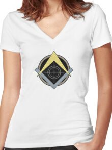 MW3 PMC Women's Fitted V-Neck T-Shirt