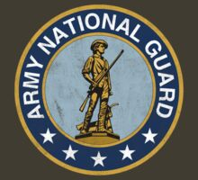 Army National Guard Vintage by Deadscan