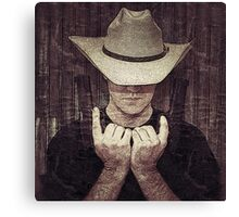 Justified Canvas Print