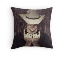 Justified Throw Pillow