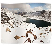 Snowdonia in Winter Poster