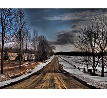 The Road to Nowhere Photographic Print