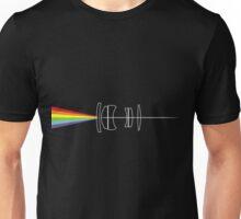 Dark side of the lens Unisex T-Shirt