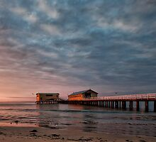 Queenscliff Pier by Michael Egan