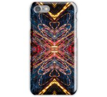 Lightpainting Abstract Symmetry UFA Prints #12 iPhone Case/Skin