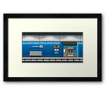 Parliament Station (Melbourne Series) Framed Print