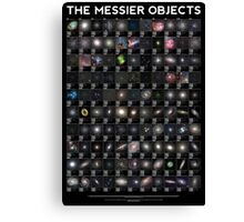 The Messier Objects Canvas Print