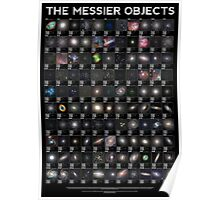 The Messier Objects Poster