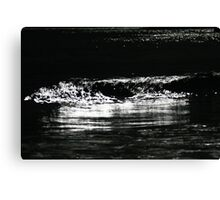 wave. waubs bay, bicheno, tasmania Canvas Print
