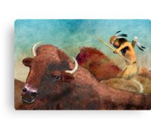 Buffalo Hunter Canvas Print