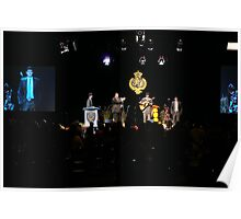 Band on stage Poster