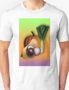 Vegetables 3 /  The Fruit Shop Unisex T-Shirt