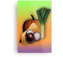 Vegetables 3 /  The Fruit Shop Metal Print