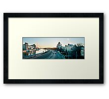 Mockba Panoramic Framed Print