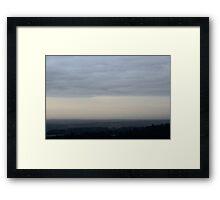 Early Morning Tones Framed Print