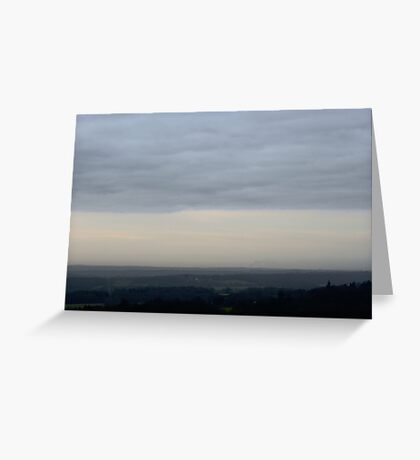 Early Morning Tones Greeting Card