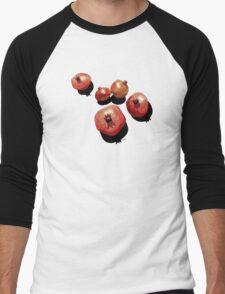 Pomegranate on the Edge Men's Baseball ¾ T-Shirt