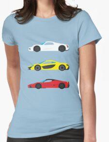 """Modern European Dream Cars """"The Trinity"""" T-Shirt"""