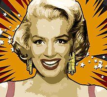 Marilyn Monroe by Mikovich