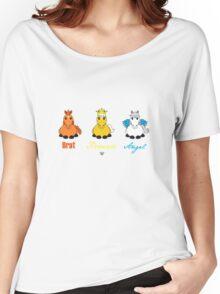 Brat, Princess, Angel Women's Relaxed Fit T-Shirt