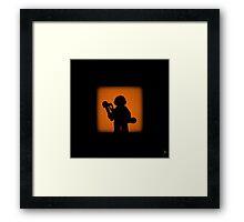 Shadow - Michelangelo Framed Print
