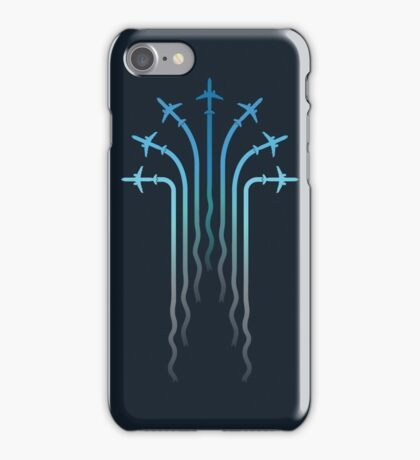Crossing the sky iPhone Case/Skin
