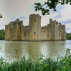Bodiam Castle Panorama by TheWalkerTouch