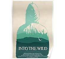 Into the Wild minimalist movie poster Poster