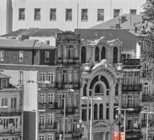 Porto Street Scene Sticker