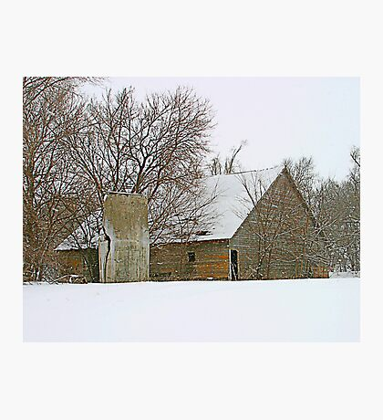 Abandoned Farm Photographic Print