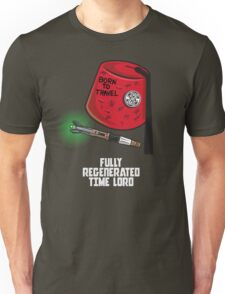 FULLY REGENERATED TIME LORD Unisex T-Shirt