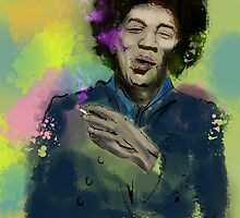 Jimi Colourised  by colodesign