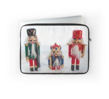 Nutcrackers in the Snow Laptop Sleeve
